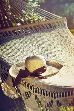 Sandra Cunningham HAMMOCK AND HAT IN SUMMER Miscellaneous Objects