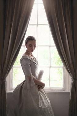 Lee Avison victorian woman at the window Women