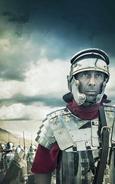Stephen Mulcahey HISTORICAL ROMAN CENTURION MAN OUTSIDE Men