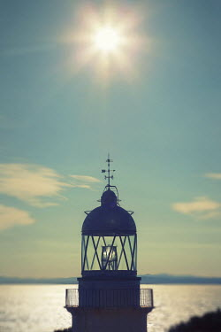 Paul Grand SILHOUETTE OF LIGHTHOUSE IN SUNSHINE Miscellaneous Buildings