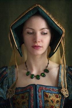 Lee Avison HISTORICAL WOMAN WEARING HEADDRESS Women