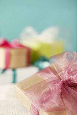 Eva Ricci STILL LIFE OF WRAPPED GIFT BOXES Miscellaneous Objects