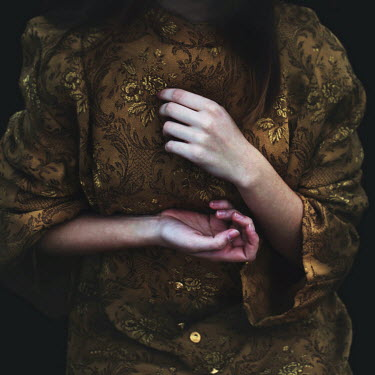 Marko Nadj MIDSECTION OF WOMAN IN ORNATE CLOTHING Women