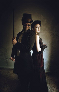 Katerina Lomonosov COUPLE IN THEATRICAL COSTUME INDOORS Couples