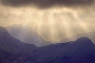 Adrian Leslie Campfield MOUNTAINS UNDER CLOUDY SKY Rocks/Mountains