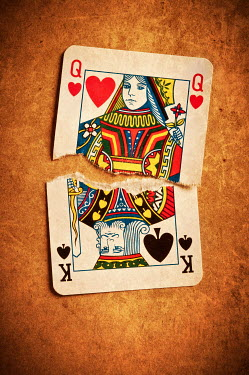 Valentino Sani RIPPED PLAYING CARDS INSIDE Miscellaneous Objects