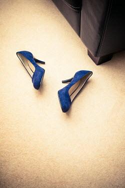 Richard Nixon WOMANS HIGH HEELS LYING ON FLOOR INDOORS Miscellaneous Objects