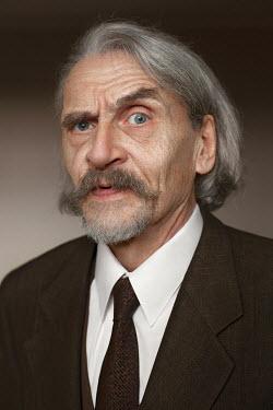 Efim Shevchenko OLD GREY HAIRED MAN INDOORS Men
