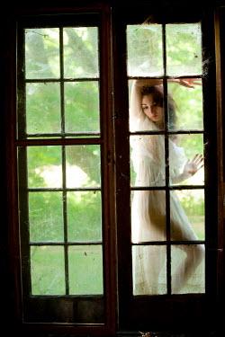Joshua Sheldon SEDUCTIVE WOMAN BEHIND FRENCH DOORS Women