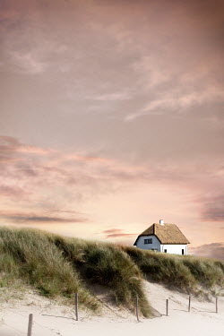 Yolande de Kort DISTANT HOUSE BESIDE SAND DUNES Houses