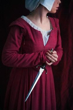 Lee Avison WOMAN SERVANT HOLDING DAGGER Women
