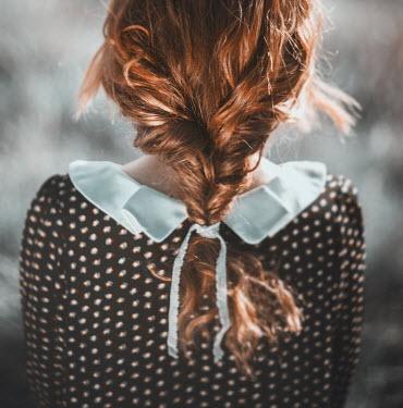 Magdalena Russocka WOMAN WITH AUBURN PLAITED HAIR Women