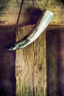 Svetlana Sewell ORNAMENTAL VINTAGE VIKING HORN Miscellaneous Objects