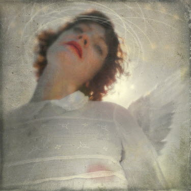 Kamil Vojnar ANGELIC WOMAN WITH WINGS Women