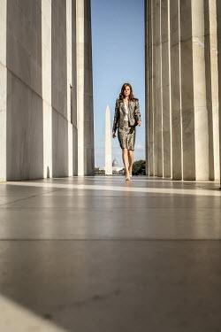 Stephen Carroll BUSINESS WOMAN WALKING THROUGH OFFICES Women