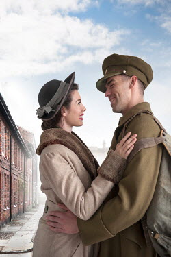 Lee Avison soldier returning from war to meet his sweetheart Couples