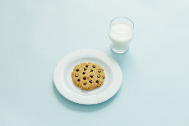 Hardi Saputra CHOCOLATE CHIP COOKIE WITH GLASS OF MILK Miscellaneous Objects