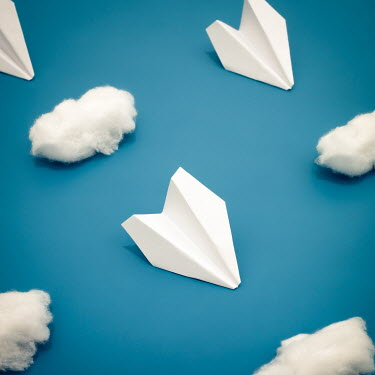 Hardi Saputra PAPER PLANES AND COTTON CLOUDS Miscellaneous Objects