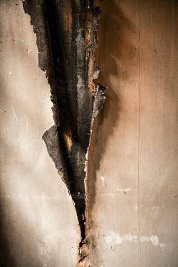 Colin Hutton WALLPAPER PEELING OFF WALL Interiors/Rooms