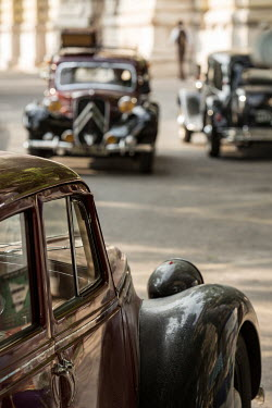 Colin Hutton CLASSIC 1940s CARS ON ROAD Specific Cities/Towns