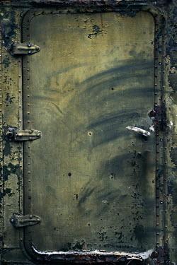 Maria Petkova INDUSTRIAL RUSTY DERELICT DOOR Building Detail