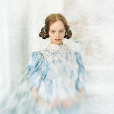 Katerina Lomonosov DREAMLIKE WOMAN WITH PLAITED HAIR Women