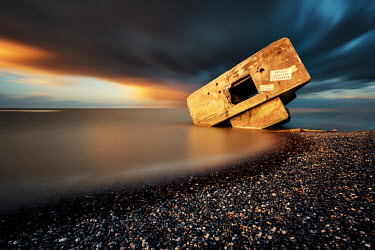 David Keochkerian BROKEN SEA DEFENCE IN OCEAN Seascapes/Beaches