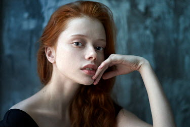 Alexander Vinogradov YOUNG RED HAIRED WOMAN CLOSE UP Women