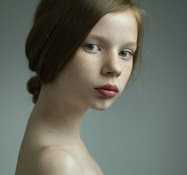 Dmitry Ageev YOUNG GIRL WITH BARE SHOULDERS Women