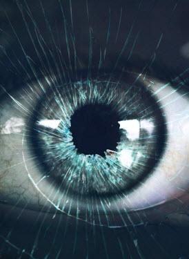 Mark Owen BROKEN GLASS REFLECTED IN BLUE EYE Body Detail