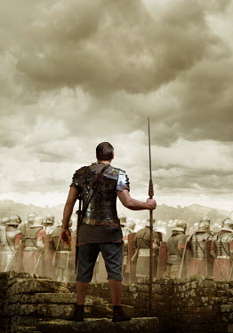 CollaborationJS ROMAN SOLDIER MAN WITH ARMY Men