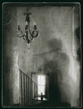 Bianca van der Werf CHANDELIER IN OLD BUILDING Interiors/Rooms