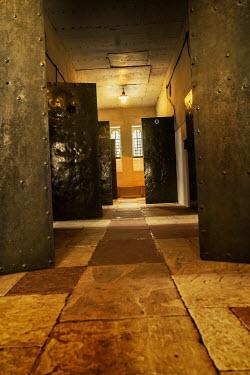 Stephen Mulcahey Prison cell doors left open Interiors/Rooms