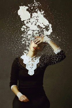 Josephine Cardin PAINT THROWN ON YOUNG WOMAN Women