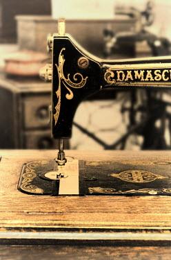 Jill Battaglia Vintage sewing machine. Miscellaneous Objects