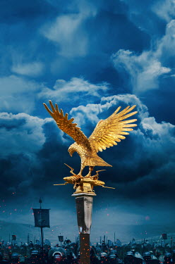 Stephen Mulcahey roman eagle standard above roman soldiers Groups/Crowds