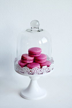 Jasenka Arbanas PINK MACAROONS ON CAKE STAND Miscellaneous Objects