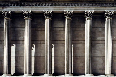 John Cooper GRAND COLUMNS OF BANK OF ENGLAND Specific Cities/Towns