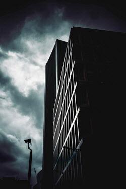 John Cooper LONDON CITY BUILDING UNDER STORMY SKY Miscellaneous Buildings