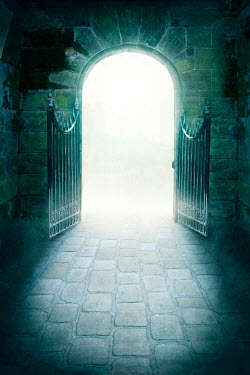 Lee Avison ominous creepy archway gates Gates