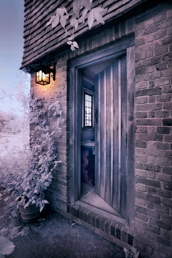Paul Knight OPEN DOOR IN COUNTRY COTTAGE HOUSE Houses