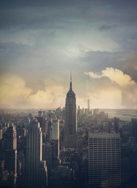 Mark Owen EMPIRE STATE BUILDING AND NEW YORK SKYSCRAPERS Specific Cities/Towns