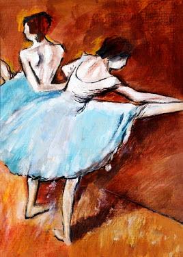 Dragan Todorovic FEMALE BALLET DANCERS IN COSTUMES