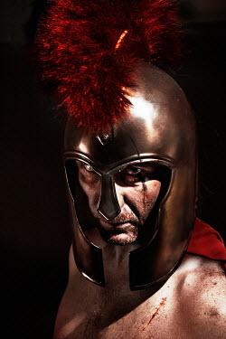 Nik Keevil ANCIENT ROMAN MAN WITH BLEEDING SCARS Men