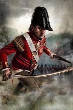 Nik Keevil HISTORICAL NAPOLEONIC MEN FIGHTING IN BATTLEFIELD Men