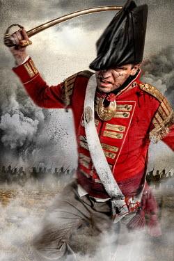 Nik Keevil HISTORICAL NAPOLEONIC MAN FIGHTING IN BATTLEFIELD Men