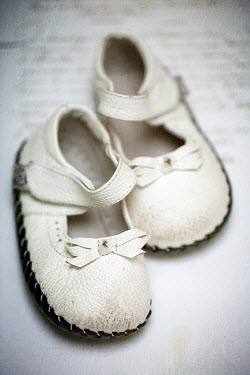 Alison Archinuk LITTLE GIRLS WORN VINTAGE SHOES Miscellaneous Objects