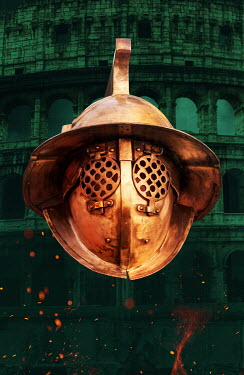 Stephen Mulcahey ancient Gladiators Helmet Miscellaneous Objects