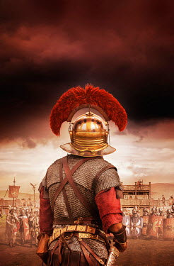 Stephen Mulcahey roman centurions on battlefield Men