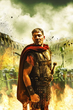 Nik Keevil ANCIENT ROMAN SOLDIER IN BATTLE Men